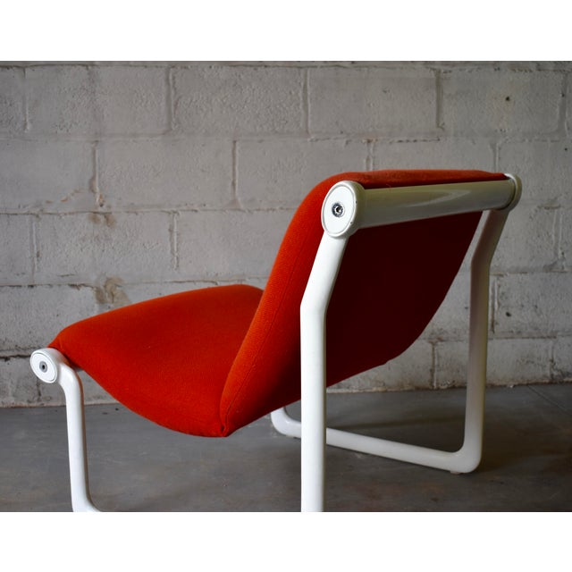 Hannah & Morrison for Knoll Mid Century Modern Sling Lounge Chair For Sale In New York - Image 6 of 13