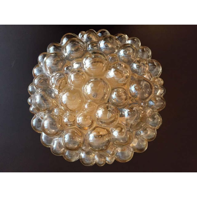 1960s Helena Tynell Limburg Bubble Glass Flush Light For Sale In New York - Image 6 of 8