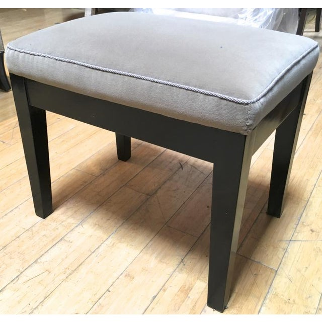 Style of Jean Michel Frank pair of stool.