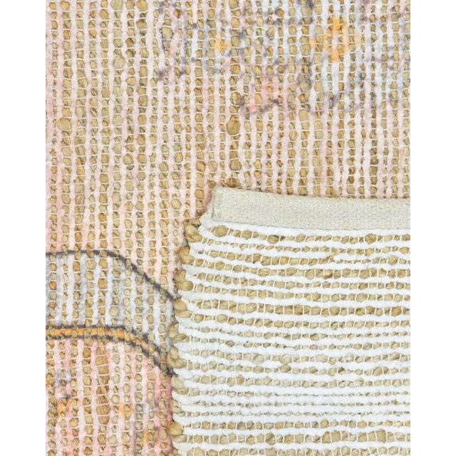 Moroccan Naina, Bohemian Moroccan Hand Loom Area Rug, Blush, 9 X 12 For Sale - Image 3 of 9