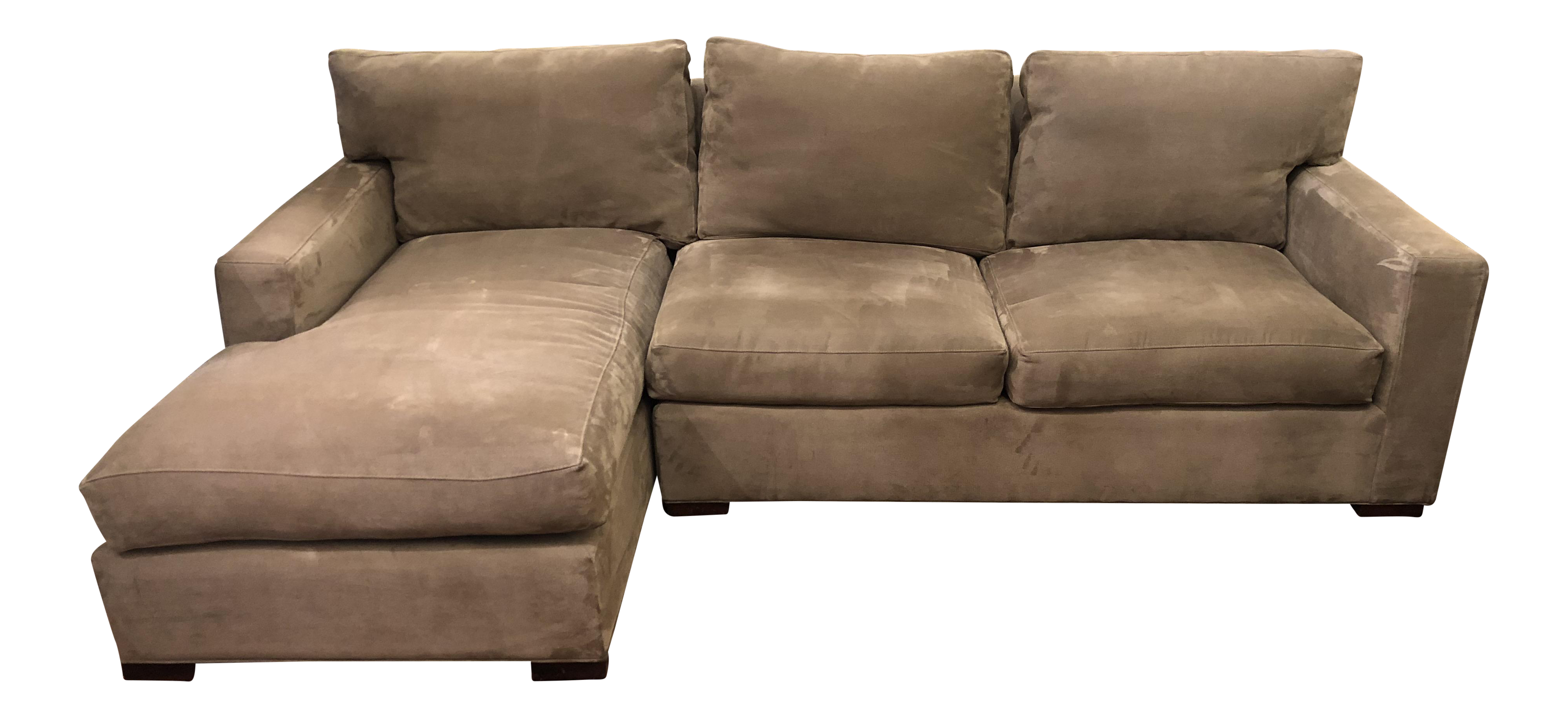 Modern Crate \u0026 Barrel Axis II Sectional Sofa - 2 Pieces  sc 1 st  Chairish & Gently Used Crate \u0026 Barrel Furniture   Up to 40% off at Chairish