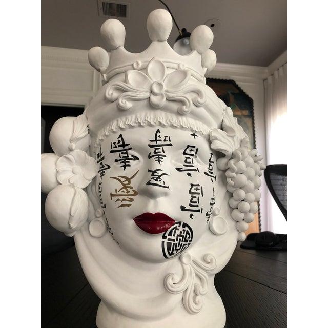 Ceramic Contemporary Ceramic Vase by Artist Stefanie Boemhi For Sale - Image 7 of 11