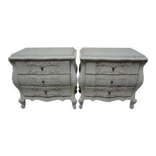 Swedish Rococo Nightstands For Sale