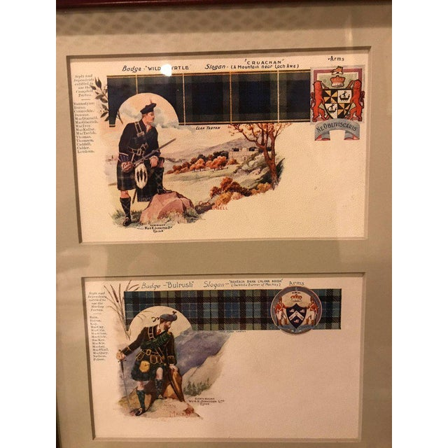 Vintage Catherine Reiss Inc Custom Framed Scottish Postcards - Set of 6 For Sale - Image 4 of 10