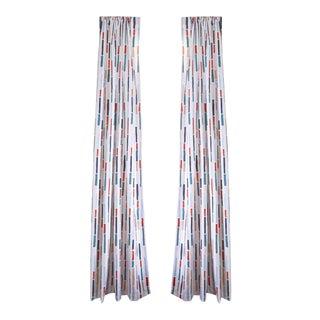 "Pepper Jasper 50"" x 84"" Curtains - 2 Panels For Sale"