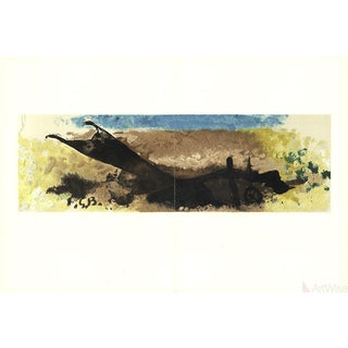 Georges Braque, Bord De Mer, 1960 Lithograph For Sale