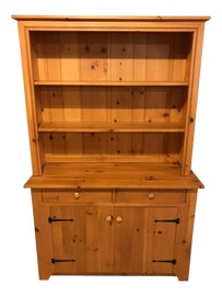 Image of Almond China and Display Cabinets