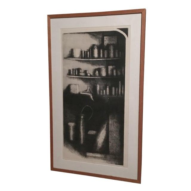 Garage print by robin sherin chairish for Garage prints