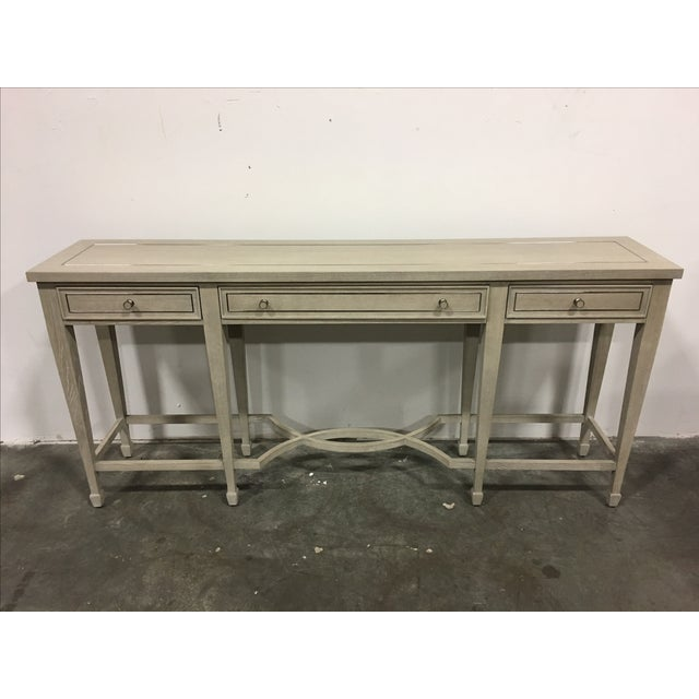 Bernhardt 3-Drawer Console Table - Image 2 of 6