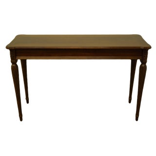 20th Century Traditional Lane Furniture Cherry Sofa Table For Sale