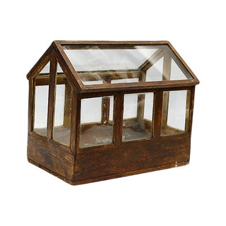 Antique English Herb Indoor Greenhouse For Sale