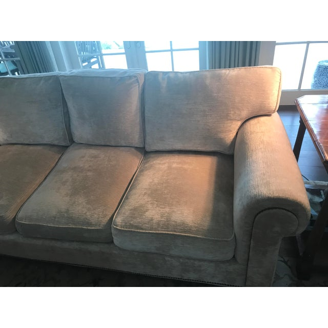 Brass Ralph Lauren Jamaica Sofa For Sale - Image 7 of 12