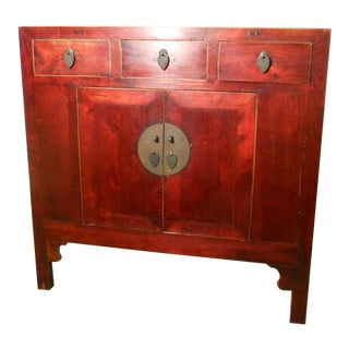 Mid 19th Century Antique Chinese Ming Cabinet/Sideboard For Sale