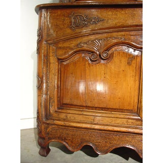 Early 18th Century Buffet Deux Corps From Auvergne, France- Walnut and Oak Preview