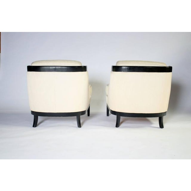 1960s Pair of Erwin Lambeth Lounge Chairs for Tomlinson For Sale - Image 5 of 8