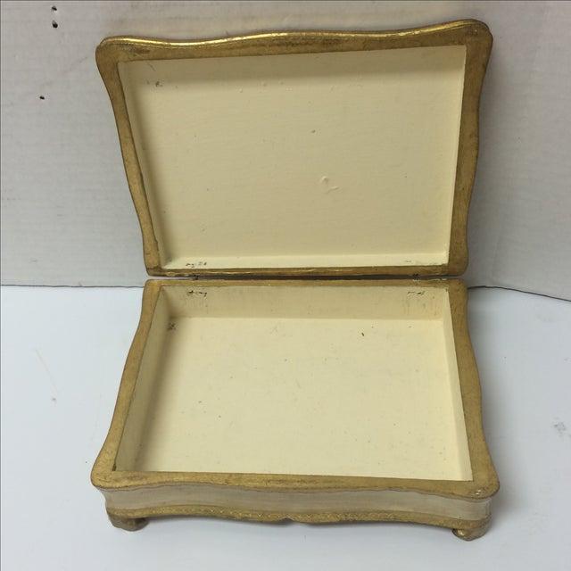 Italian Florentine Keepsake Box - Image 6 of 8