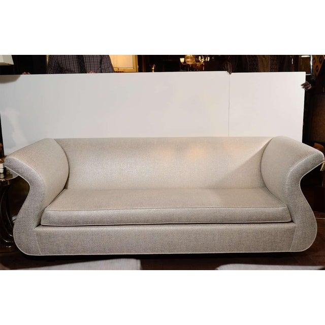Hollywood Regency Dialogica Hollywood Regency Sofa Designed by Sergio Savarese For Sale - Image 3 of 10