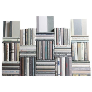 Modern Marble Book Wall : Set of One Hundred Decorative Books