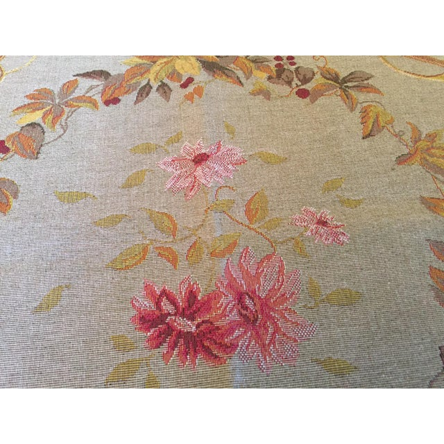 1990s French Baroque Style Tapestry For Sale - Image 5 of 12
