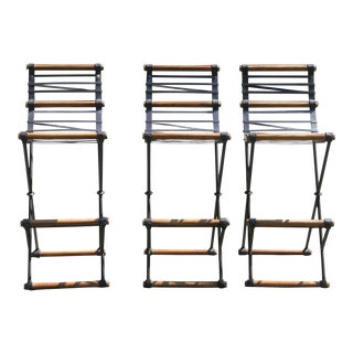 Cleo Baldon for Terra High Back Stools- Set of 3