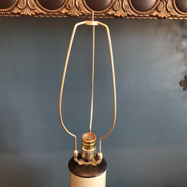 Vintage Asian Celadon Ceramic Lamp - Image 8 of 8