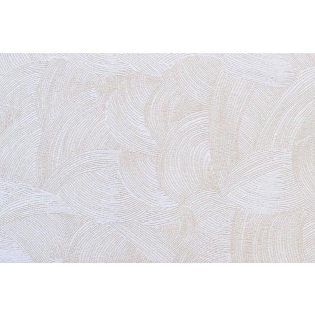 Sherrill Mid Century Style Tuxedo Sofa in Cream - Image 6 of 8