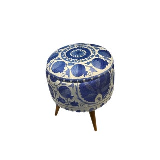 21st Century Vintage Handcrafted Turkish Ottoman For Sale