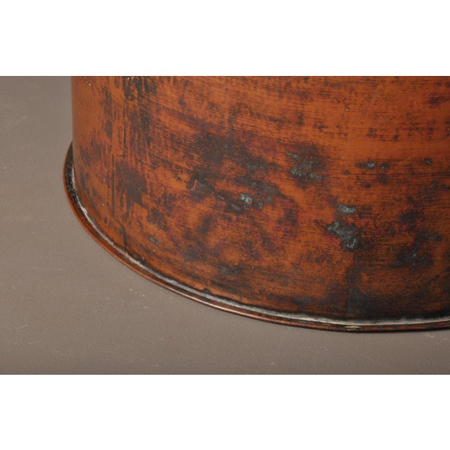 Large Copper Pot, Switzerland, 1940s For Sale - Image 4 of 10