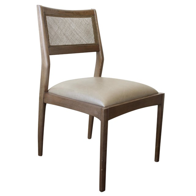 McGuire Fino Side Chair in Gray & Dove - Image 1 of 7