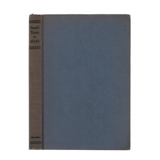 "1946 ""First Edition, Small Town"" Collectible Book For Sale"