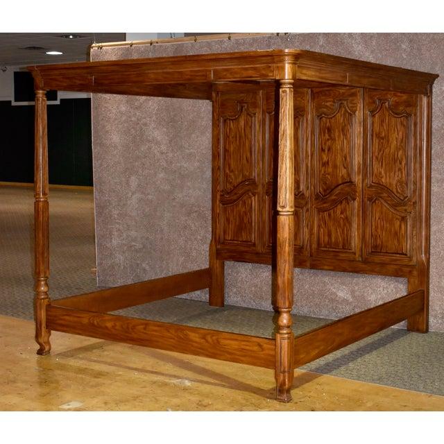 Vintage Drexel Heritage King Size Canopy Bed For Sale - Image 13 of 13