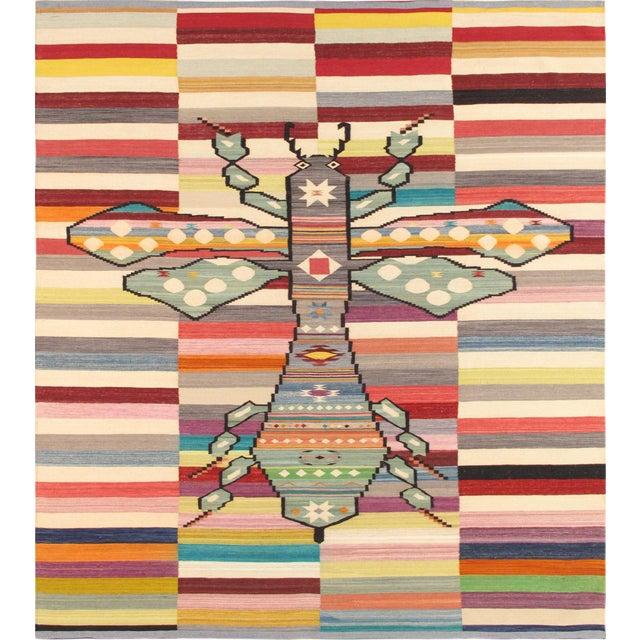 "Pasargad Modern Lamb's Wool Area Rug - 8'4"" X 9'9"" - Image 1 of 3"