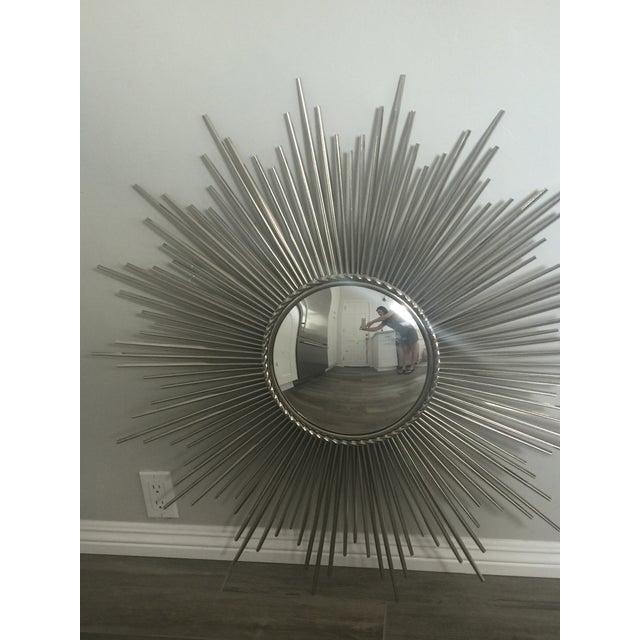 Sunburst Mirror, Made from Nickel - Image 2 of 6