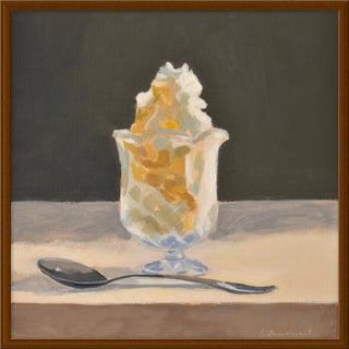 """Butterscotch Sundae"" by Anne Carrozza Remick, 24"" X 24"""