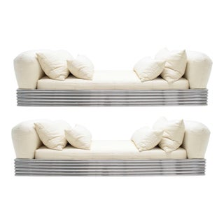 Pair of Brueton Radiator Beds For Sale