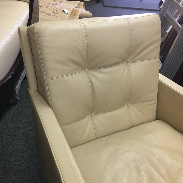 Gerard Furniture Bentley Leather Arm Chair - Image 3 of 6