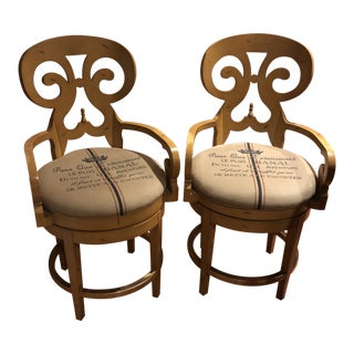 Vanguard Counter Stools - A Pair For Sale