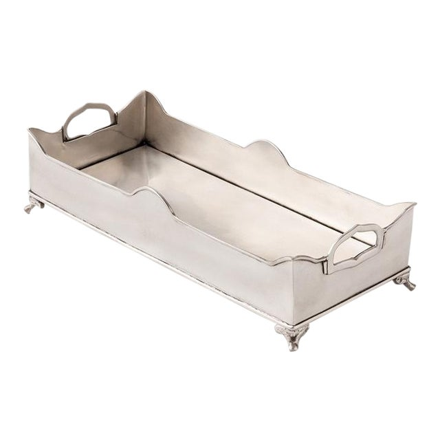 Chester Footed Tray With Handles - Image 1 of 5