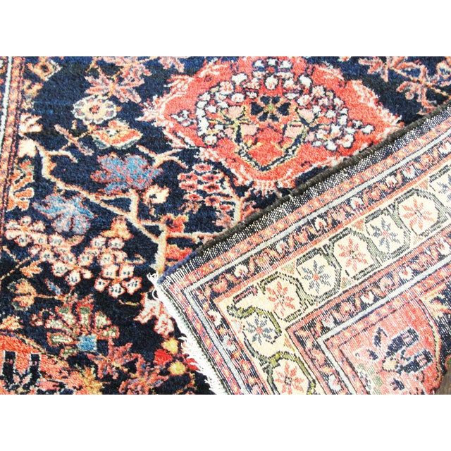 Antique Persian Bakhtiari Runner For Sale - Image 4 of 12