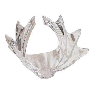 Cristalleries De Vannes-Le-Chatel Crystal Vase For Sale