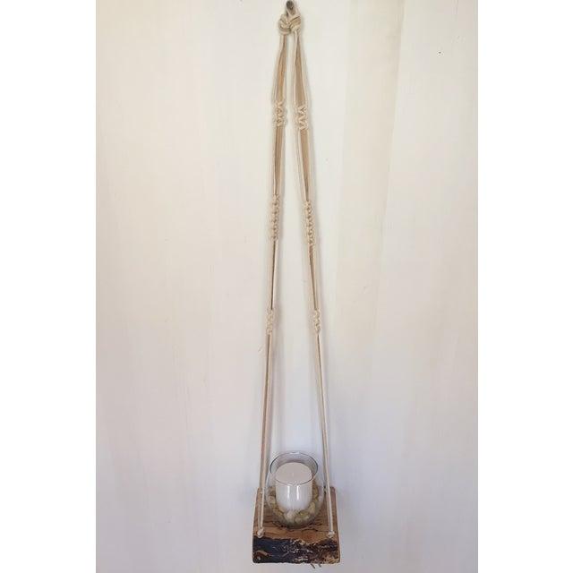 Wooden Macrame Hanger - Image 2 of 6