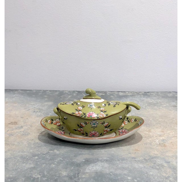 Part Spode Dessert Set, England 19th Century - 18 Pc. Set For Sale - Image 10 of 11