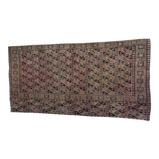 Late 19th Century Antique Tekke Chuval Torba Rug - 2′2″ × 4′2″ For Sale