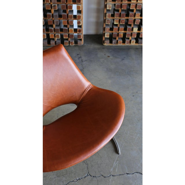 Preben Fabricius & Jørgen Kastholm Scimitar Chairs by Ivan Schlecter Circa 1965 For Sale In Los Angeles - Image 6 of 11