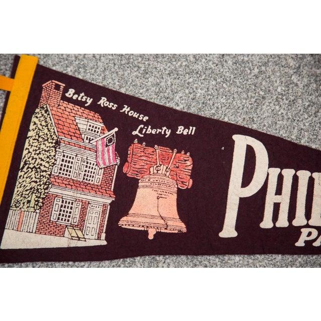 Philadelphia, PA Felt Flag - Image 2 of 3