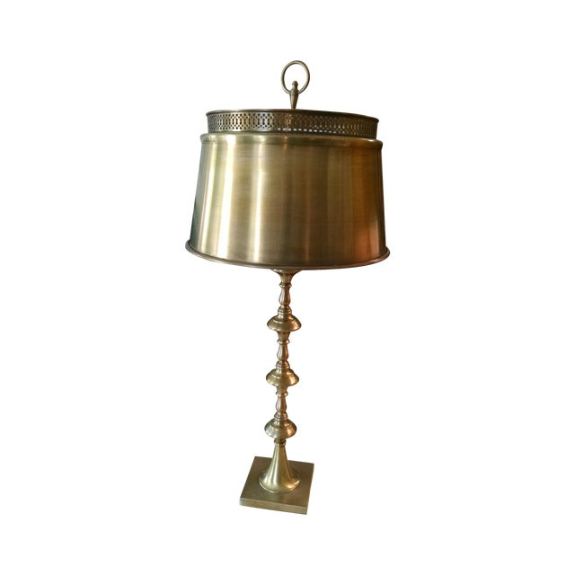 Vintage Brass Table Lamp - Image 1 of 6