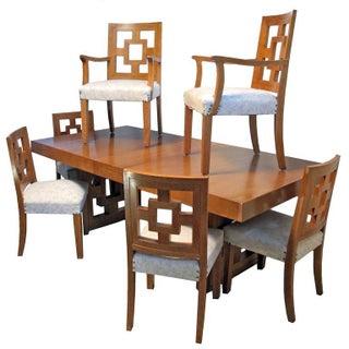 Mid-Century Modernist Teak Dining Set