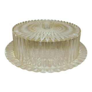 1950s Lucite Cake Carrier For Sale