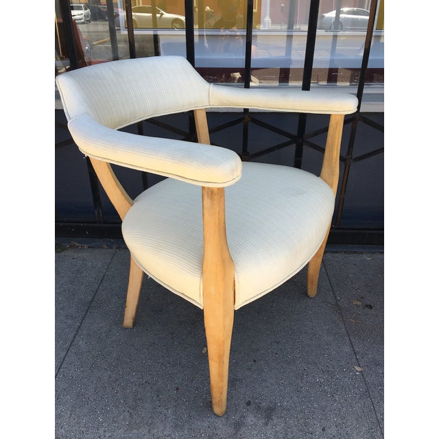 Wood Mid-Century Sculptural Armchairs - A Pair For Sale - Image 7 of 11