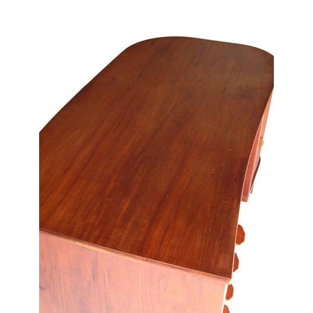 "Perfect Scandinavian ""Mad-Men"" Desk For Sale - Image 9 of 10"